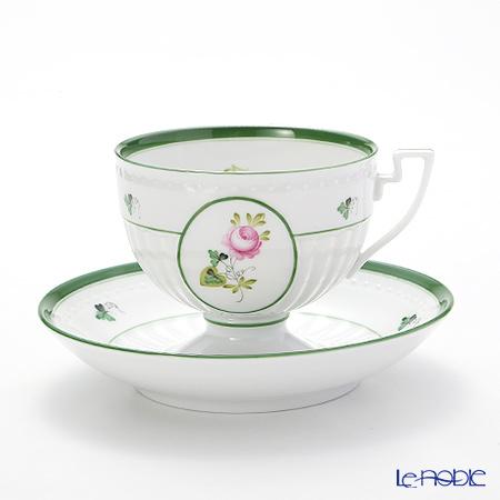 ヘレンド ウィーンのバラ 04459-0-00 ティーカップ&ソーサー