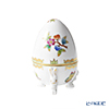 Herend Queen Victoria / Victoria avec Bord en Or VBO 06047-0-00 Egg Box (with Rabbit foot) H12cm