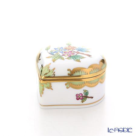 ヘレンド ヴィクトリア・ブーケ 06112-0-00 ハートボックス 5cm