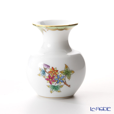 ヘレンド ヴィクトリア・ブーケ 07193-0-00 ミニチュアベース 6.4cm