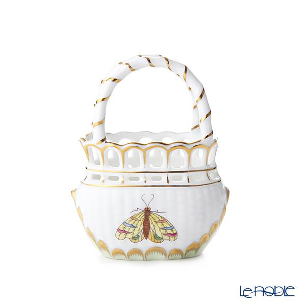 Herend Queen Victoria / Victoria avec Bord en Or VBO 07455-0-00 Basket (openwork) H9cm