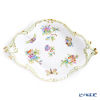 Herend Queen Victoria / Victoria avec Bord en Or VBO 07515-0-00 Fruit Dish (Diamond shape) 35.5x24cm