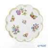 Herend Queen Victoria / Victoria avec Bord en Or VBO 07616-0-00 Tray (Flower shape) 17cm