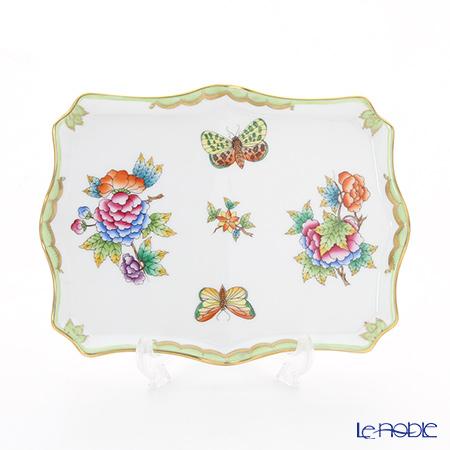 ヘレンド ヴィクトリア・ブーケ 07623-0-00トレイ 19×14.5cm