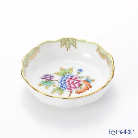 ヘレンド ヴィクトリア・ブーケ 07719-0-00 スモールディッシュ 8.5cm