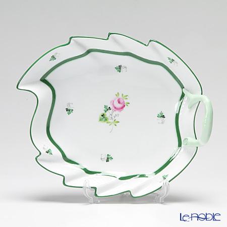 ヘレンド ウィーンのバラ 00200-0-00/200 リーフディッシュ 23cm