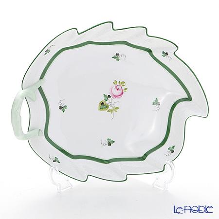 ヘレンド ウィーンのバラ 00201-0-00/201 リーフディッシュ 23.5cm