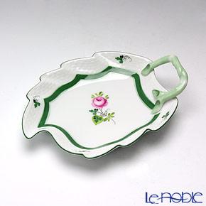 ヘレンド ウィーンのバラ 00205-0-00/205 リーフディッシュ 15cm