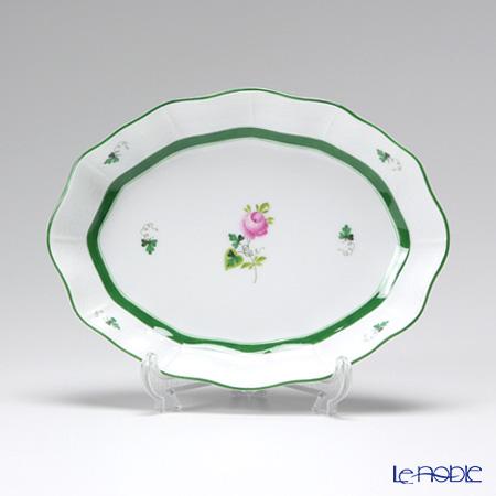 ヘレンド ウィーンのバラ 00213-0-00 ファンシーディッシュ 19.5cm