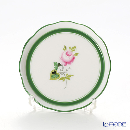 Herend 'Vienna Rose / Vieille Rose de Herend' VRH 00341-0-00 Plate 10cm