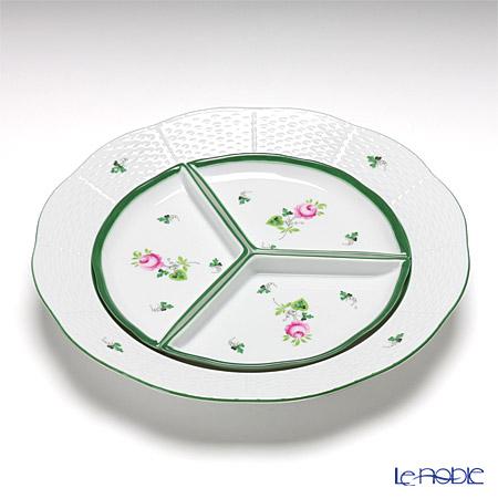 ヘレンド ウィーンのバラ 00441-0-00/443 オードブルセット 25cm