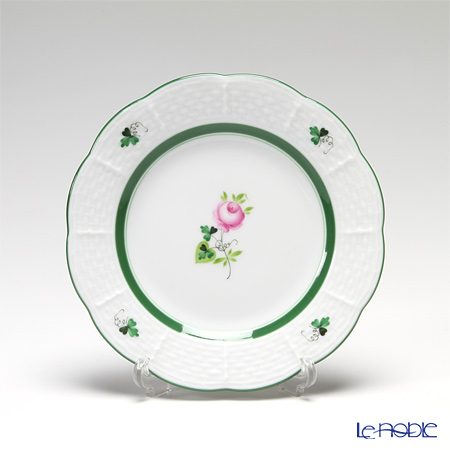 Herend 'Vienna Rose / Vieille Rose de Herend' VRH 00512-0-00 Plate 12.5cm