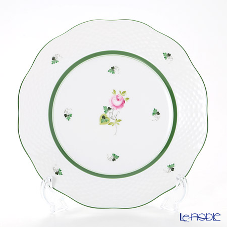 Herend 'Vienna Rose / Vieille Rose de Herend' VRH 00519-0-00/519 Plate 20.5cm