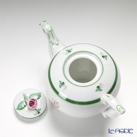 ヘレンド ウィーンのバラ 00608-0-09/605ティーポット(ローズ) 400cc