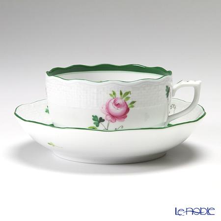 Herend 'Vienna Rose / Vieille Rose de Herend' VRH 00704-0-00/704 Tea Cup & Saucer 200ml