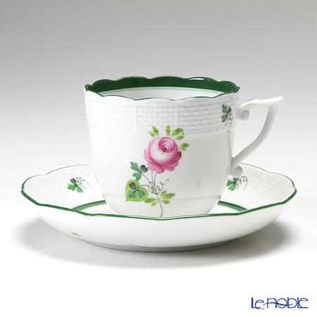 ヘレンド ウィーンのバラ 00706-0-00/706 コーヒーカップ&ソーサー 160cc