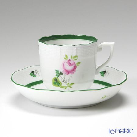 Herend Vienna Rose / Vieille Rose de Herend VRH 00707-0-00/707 Mocha Cup & Saucer 150ml