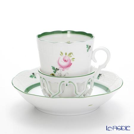 ヘレンド ウィーンのバラ 00713-0-00/713 チョコレートカップ&ソーサー
