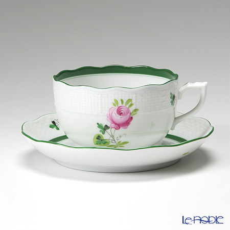 Herend 'Vienna Rose / Vieille Rose de Herend' VRH 00724-0-00 Tea Cup & Saucer 200ml