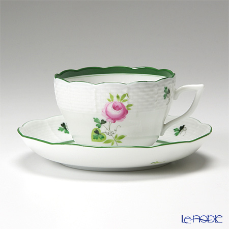 Herend 'Vienna Rose / Vieille Rose de Herend' VRH 00730-0-00/730 Tea / Coffee Cup (combined) & Saucer 200ml