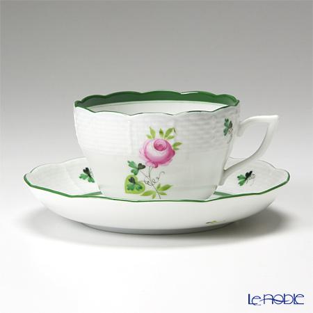 ヘレンド ウィーンのバラ 00730-0-00/730 ティーカップ&ソーサー(兼用) 200cc