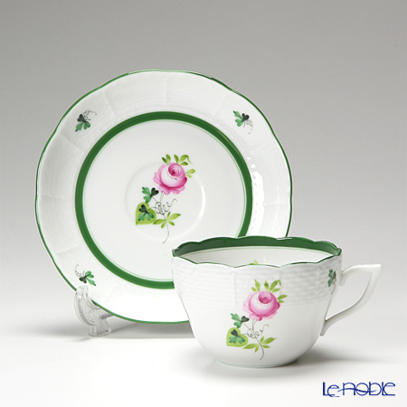 Herend Vieille Rose de Herend Teacup with saucer 200 ml, VRH 00730-0-00/730