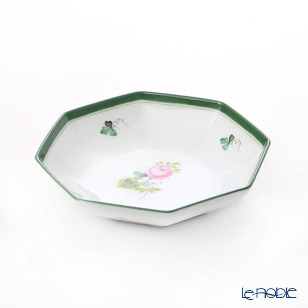 ヘレンド ウィーンのバラ VRH 小皿/豆皿(オクタゴナル) 11cm 04307-1-00