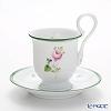 ヘレンド ウィーンのバラ 04911-0-00コーヒーカップ&ソーサー(ハイハンドル)