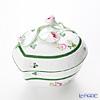 Herend 'Vienna Rose / Vieille Rose de Herend' VRH 06002-0-02 Heart Box (Rose knob) H11.5cm