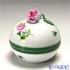 ヘレンド ウィーンのバラ 06033-0-09/6153ラウンドボックス(ローズ)