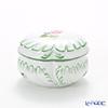 Herend 'Vienna Rose / Vieille Rose de Herend' VRH 06036-0-00 Round Box H5.5cm