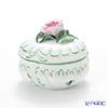 Herend 'Vienna Rose / Vieille Rose de Herend' VRH 06036-0-09 Round Box (Rose knob) H7.2cm