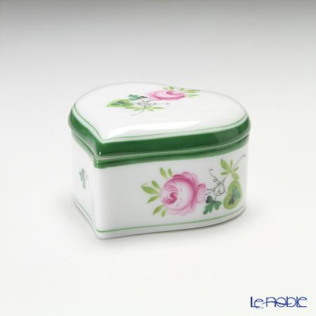 ヘレンド ウィーンのバラ 06111-0-00/6121ハートボックス