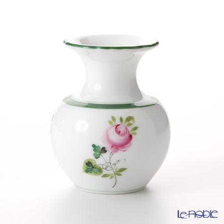 ヘレンド ウィーンのバラ 07193-0-00 ミニチュアベース 6.4cm