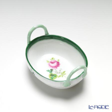 ヘレンド ウィーンのバラ 07423-0-00/7423 ハンドル付きリング入れ