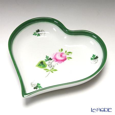 ヘレンド ウィーンのバラ 07703-0-00 ハートトレイ