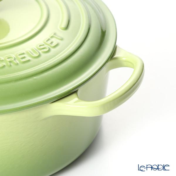Le Creuset 'Signature' Palm Green [Cast Iron] Round Casserole / Cocotte 22cm