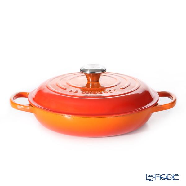 ル・クルーゼ(LeCreuset) ビュッフェキャセロール 26cm オレンジ