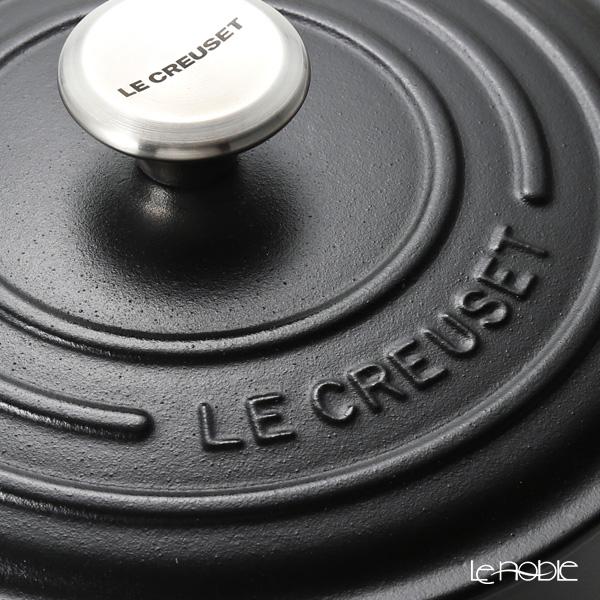 ル・クルーゼ(LeCreuset) シグニチャーココットロンド20cm ブラック