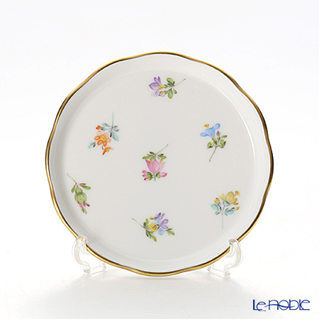 Herend Thousand Flowers / Mill Fleur MF 00341-0-00 Coaster / Plate 10cm