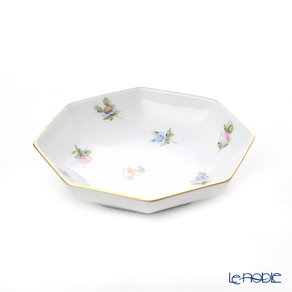 ヘレンド ミルフルール MF 小皿/豆皿(オクタゴナル) 11cm 04307-1-00