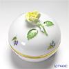 Herend 'Thousand Flowers / Mill Fleur' MF 06033-0-00/6153 Round Box (Rose knob) 7.8xH8cm