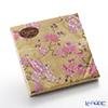 Caspari 'Plum Blossom' Gold x Pink CKK9021L Paper Napkin 33x33cm (set of 20)