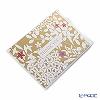 メッセージカード カスパリ 14.8×10.2cm(定形サイズ)BT83610 サンキュー フローラルレースゴールド
