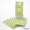 Caspari 'Garden Trellis' Green FAV002 Paper Party Bag 10x20cm (set of 8)