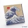 Caspari 'The Great Wave - Katsushika Hokusai' Gold x Blue 14231L Paper Napkin 33x33cm (set of 20)
