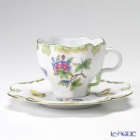 ヘレンド ヴィクトリア・ブーケ 04740-0-00 ティーカップ&ソーサー 200cc