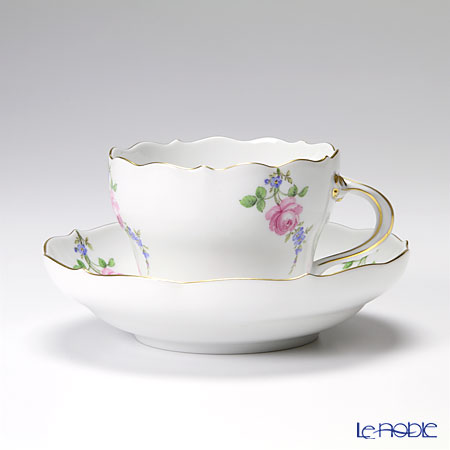 マイセン(Meissen) 野バラと忘れな草 029310/00582 コーヒーカップ&ソーサー 200cc