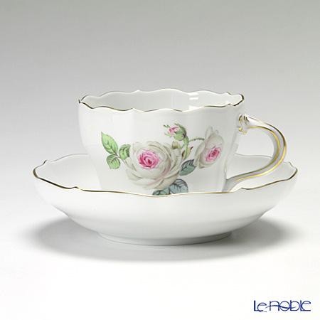 マイセン(Meissen) ホワイトローズ 029510/00582 コーヒーカップ&ソーサー 200cc