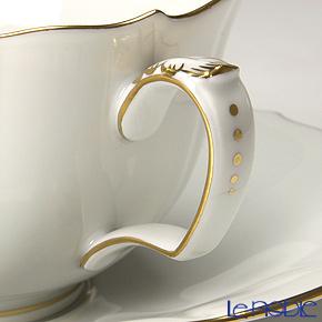 マイセン(Meissen) ホワイトローズ 029510/00633ティーカップ&ソーサー 150cc